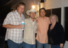 Clay's Birthday party with Brian Tabor, Clint Park and Amanda Hunt-Taylor